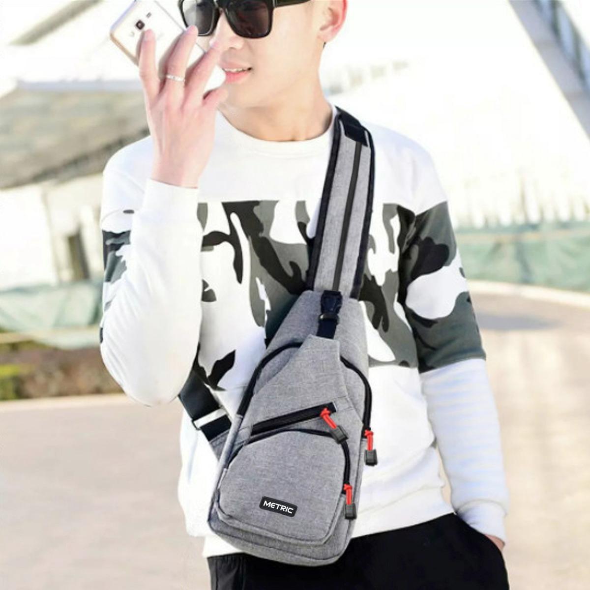 Harga Termurah Metric Tas Ransel Tas Waistbag Tas Selempang Tas Gadget Size 10 Inchi Bisa Ransel Tali Satu Dan Ransel Tali Dua Grey