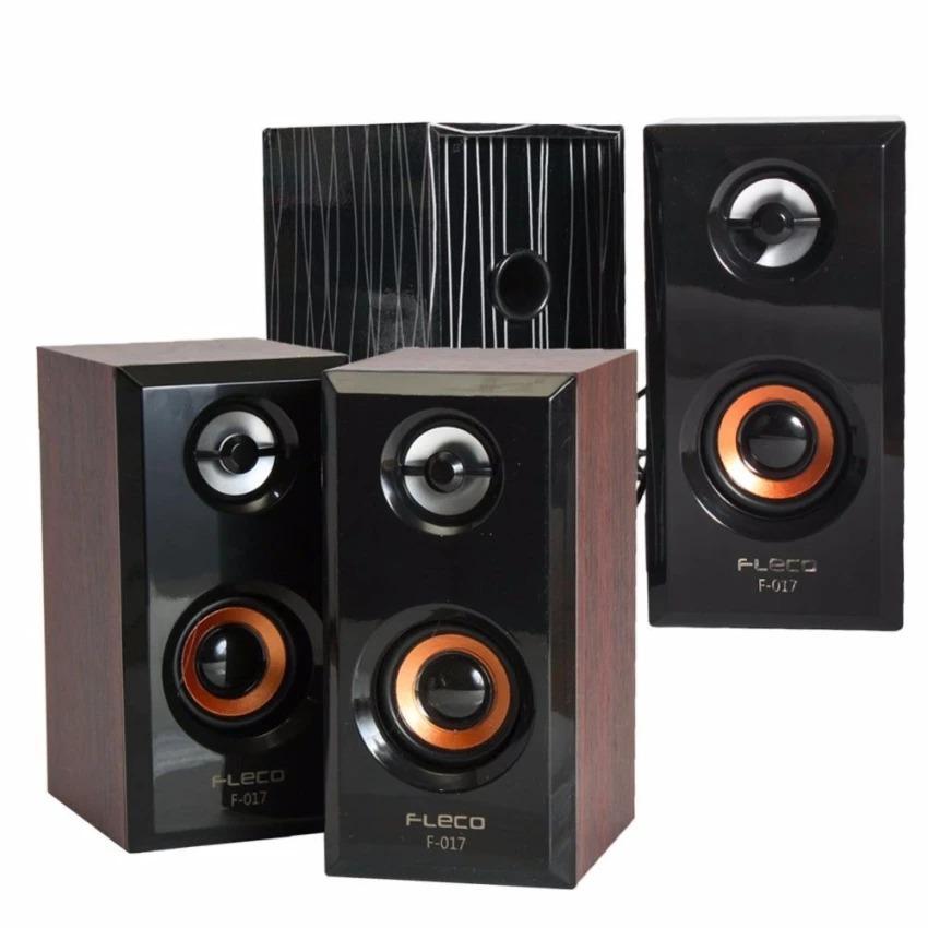 Speaker Fleco F-017 Speker Mini Computer F017 Stereo