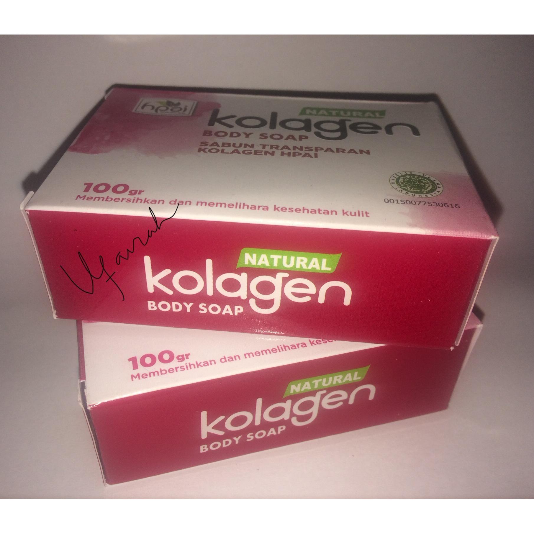 ufairah paket sabun kolagen isi 2