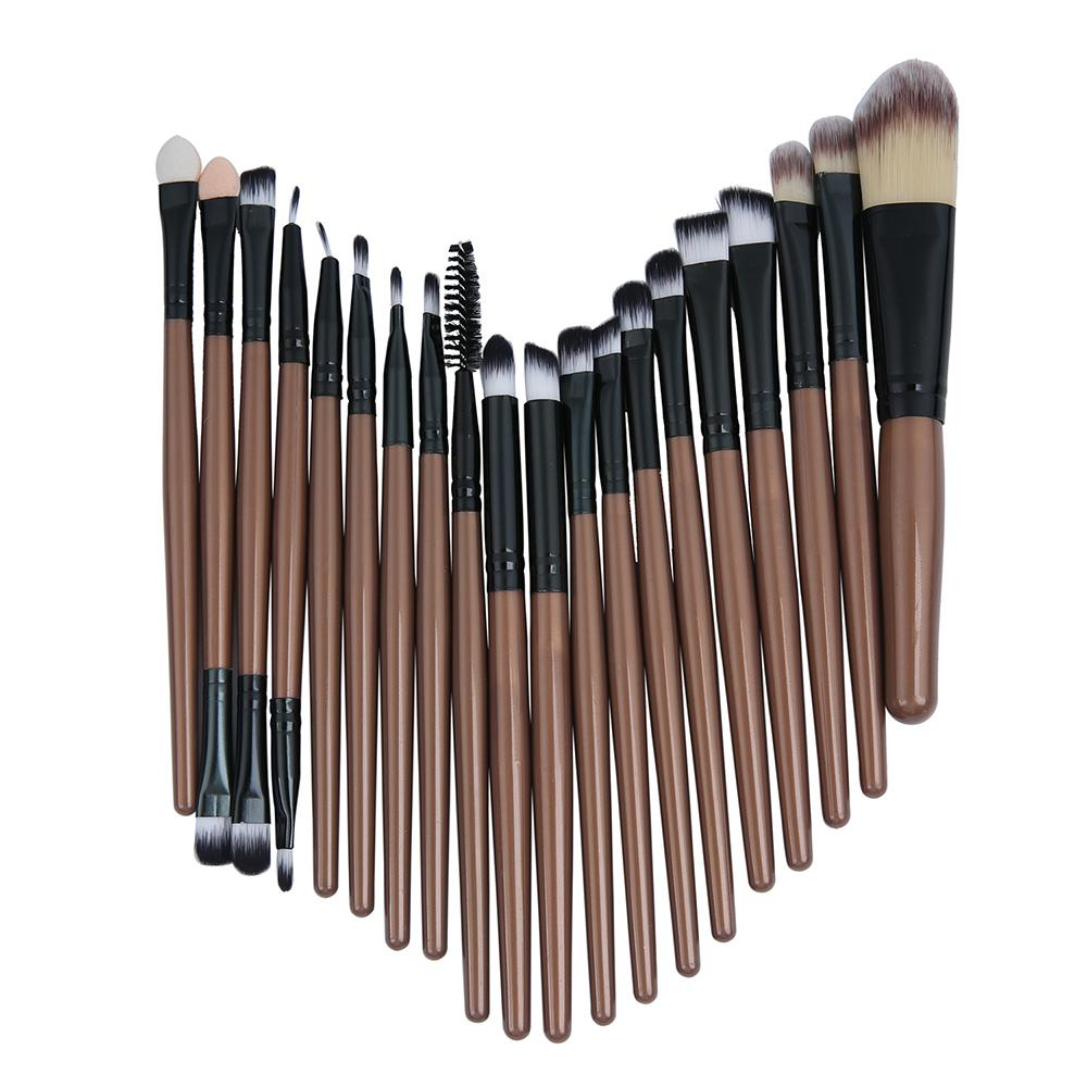 Beli Esogoal 20 Pcs Wol Make Up Sikat Set Makeup Brush Set Alat Make Up Perlengkapan Mandi Kit Emas Esogoal Asli
