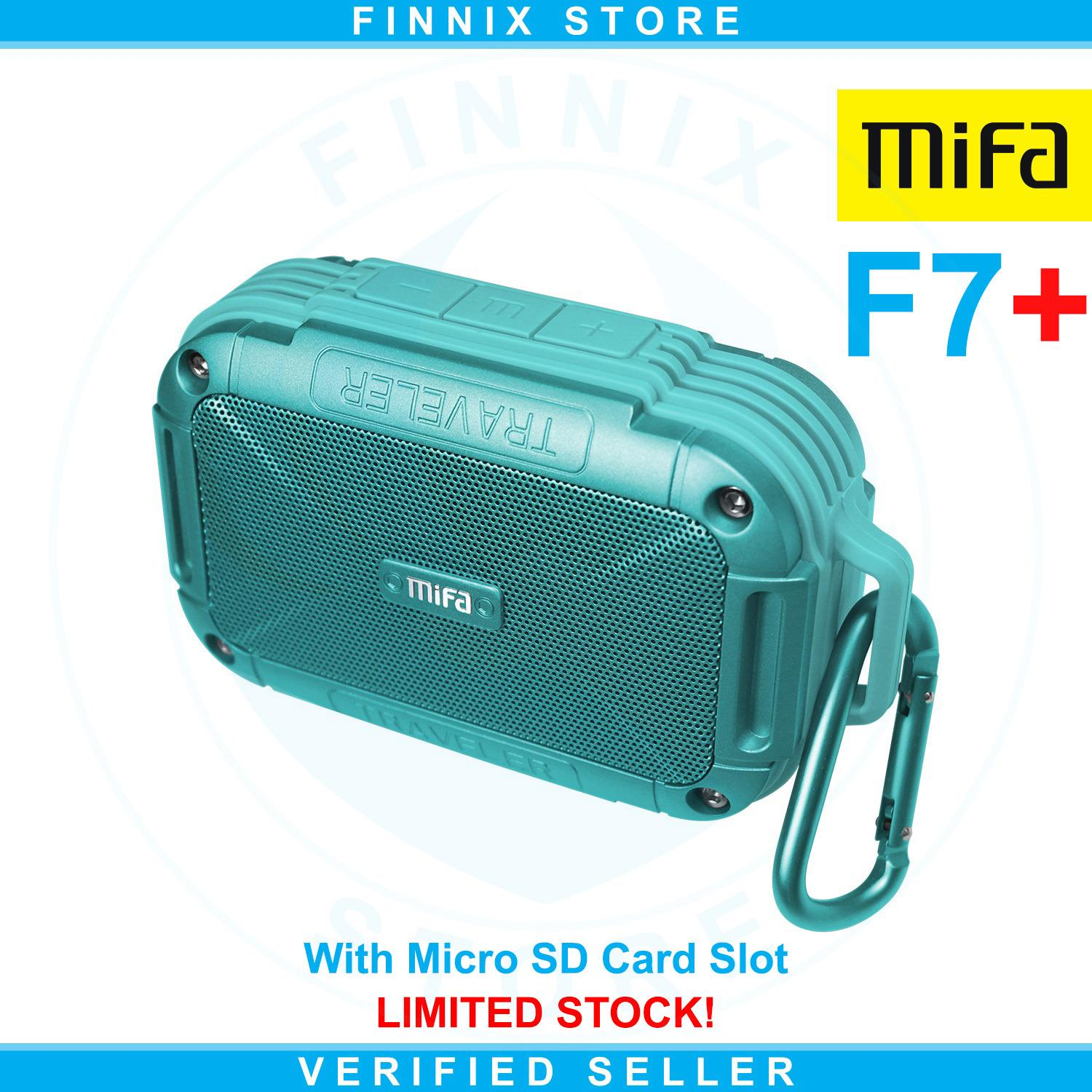 Toko Xiaomi Mifa F7 Outdoor Bluetooth Speaker Ipx6 Water Resistant With Micro Sd Card Slot Blue Dekat Sini