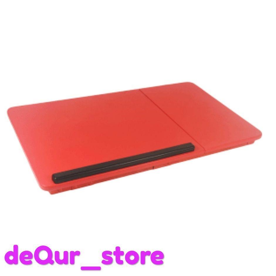 Meja Lipat Laptop Kayu Jati Belajar Anak Stand Mozaik Detail Gambar Oxy Folding Table Lesehan Terbaru