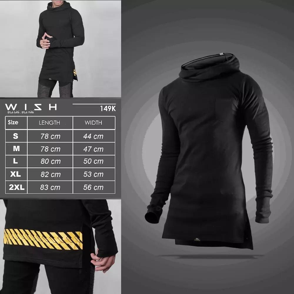 Promo Terlengkap Jacket Hoodie Grey Finger Black Di Toko Online Shop Inventzo Fargo Sarung Tangan Motor Wish Shirt Kaos Longline Polos Hitam Korea Style
