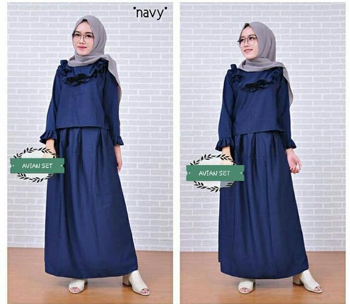 FJCO SFS - AVIAN SET / Setelan Muslimah / Hijab style / Fashion Muslimah
