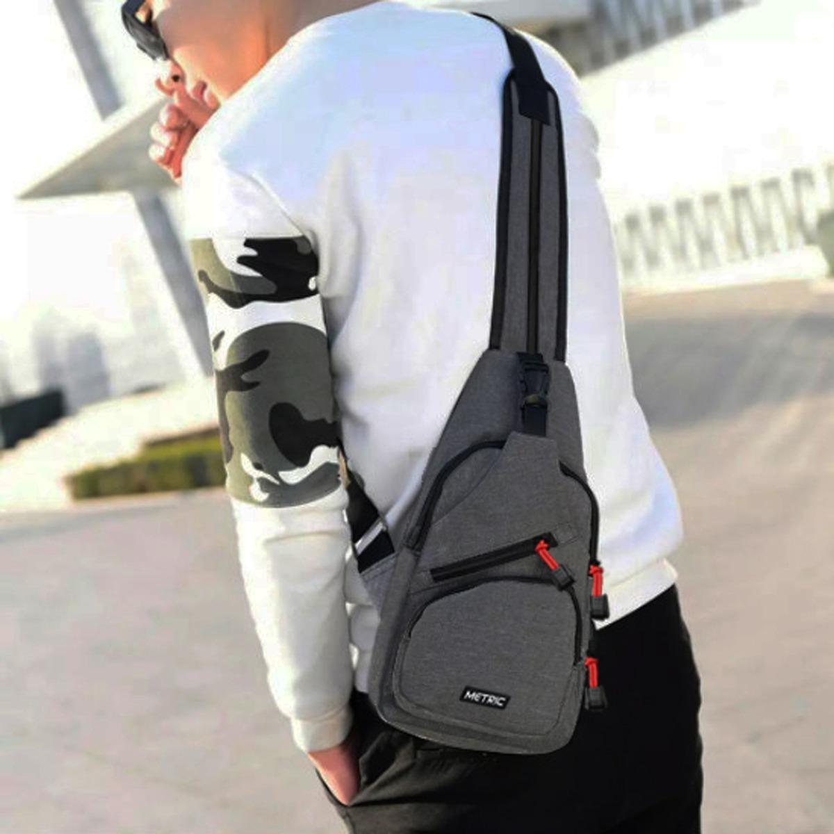 Metric Sling Bag Korea Tas Ransel Tali Satu Tas Waistbag Tas Selempang Tas  Gadget Tas Smartphone 146f0a83b3