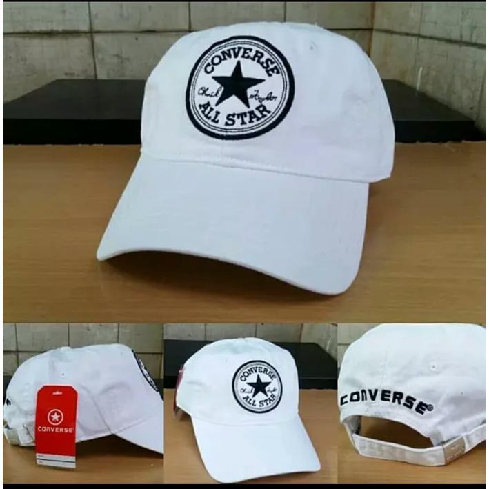 Beli Topi Converse Logo White Murah Di Indonesia