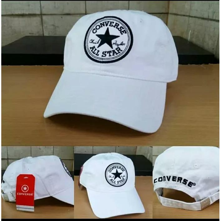 Tips Beli Topi Converse Logo White