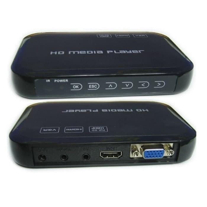 TERMURAH - HD Media Player Full HD 1080P Harddisk (Support TV Tabung