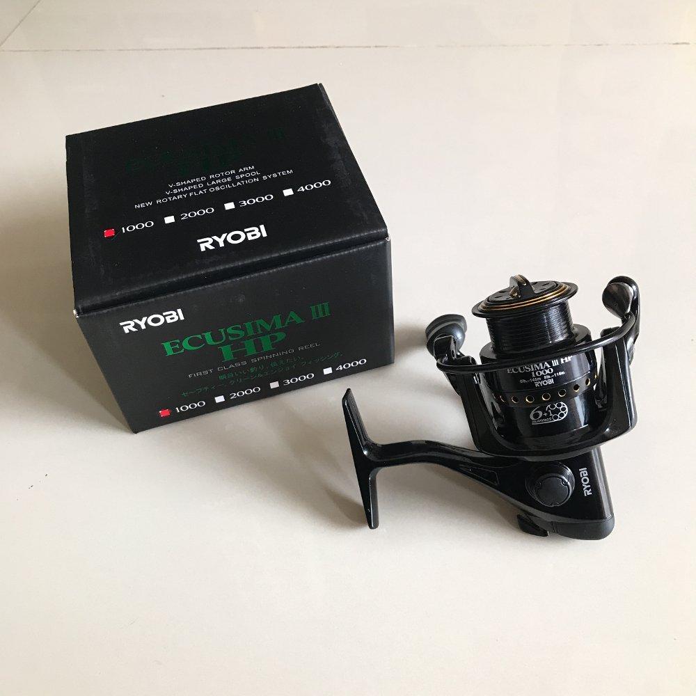 Reel Ryobi Ecusima lll HP 1000 power handle Terlariss