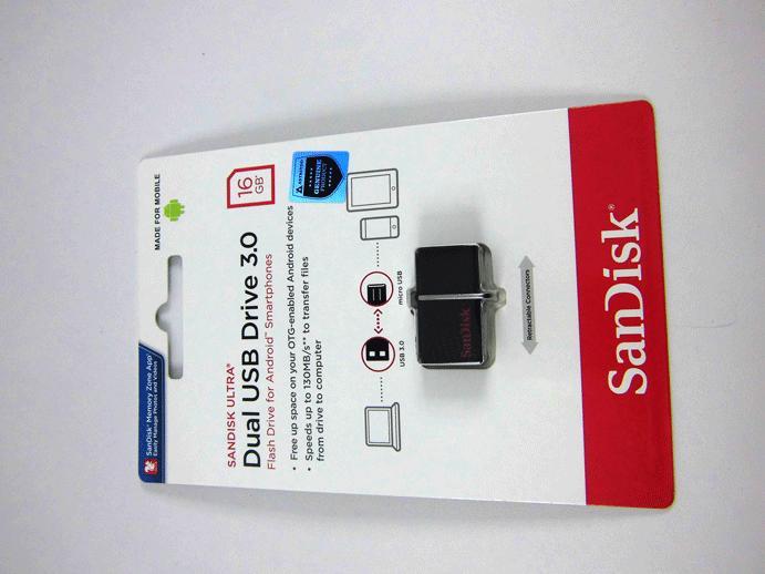 FLASHDISK Sandisk 16 GB Dual OTG USB 3.0