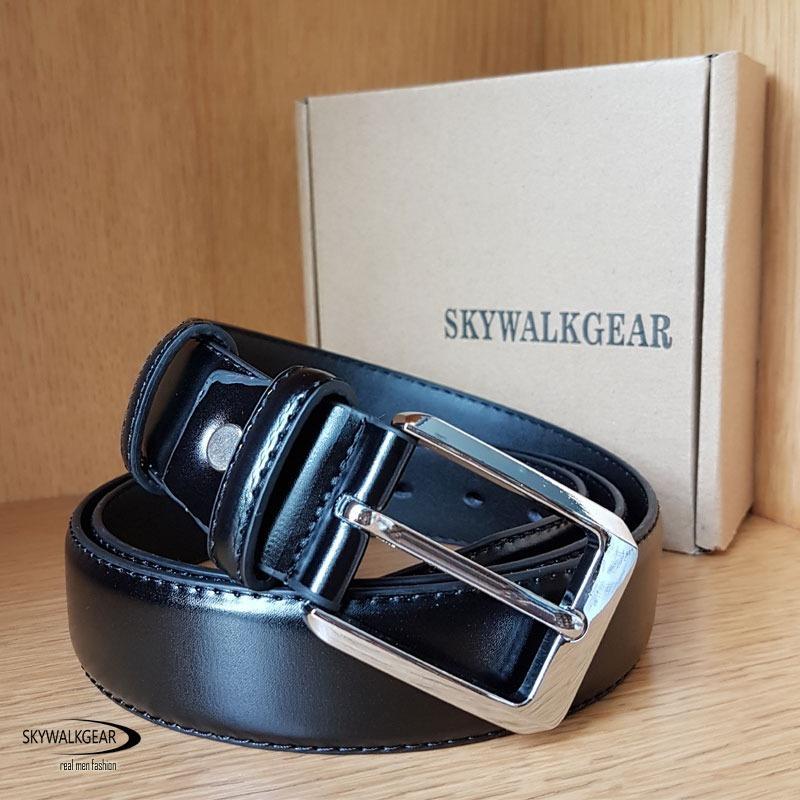 Review Toko Skywalkgear Ikat Pinggang Pria Enzo Belt B88 Hitam Online