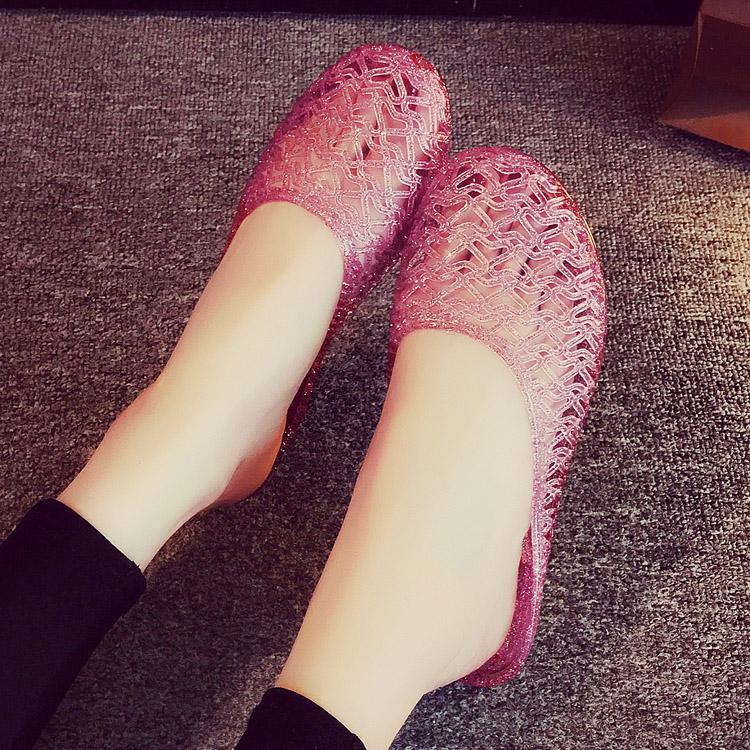 Dalam Ruang Sendal Musim Panas Rumah Tangga Sandal Model Crocs Plastik