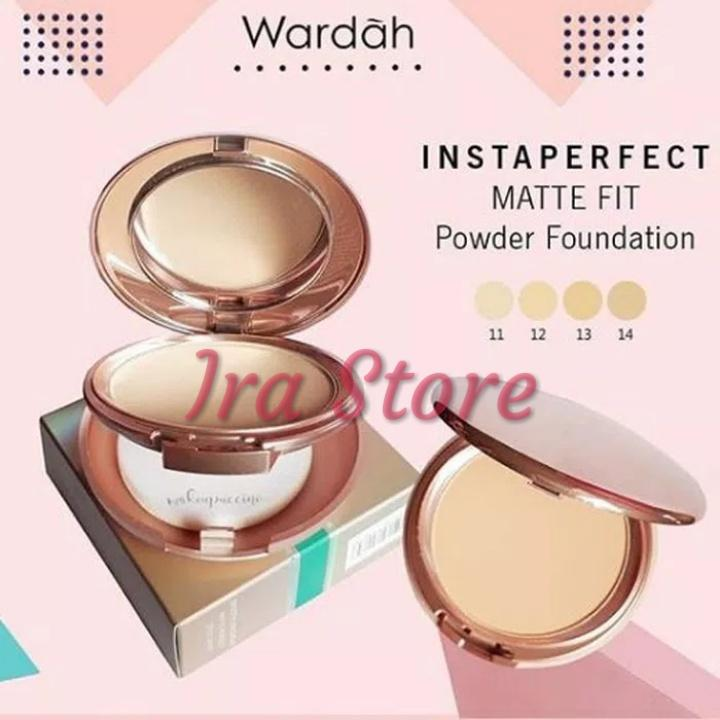 Wardah InstaPerfect MATTE FIT Powder Foundation