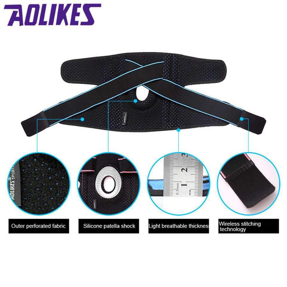 AOLIKES Pelindung Lutut Olahraga Knee Support Fitness Jual Produk Pelindung Tubuh & Decker Murah Terbaik - 5