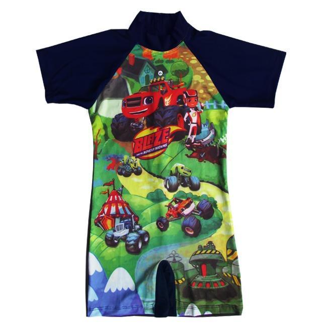 Baju Renang Diving Anak Karakter BRDL-K061TK