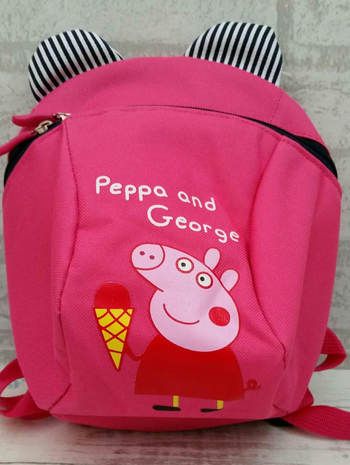 Tas Ransel Backpack Anak TK Playgroup Peppa Pig Import