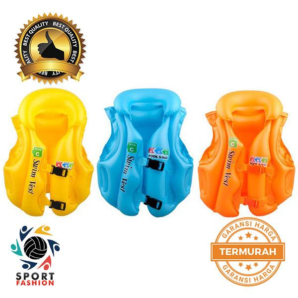 Detail Gambar Intex 59661 Fun Fish Inflatable Swim Vest / Rompi Pelampung Renang Anak Bestway 32034
