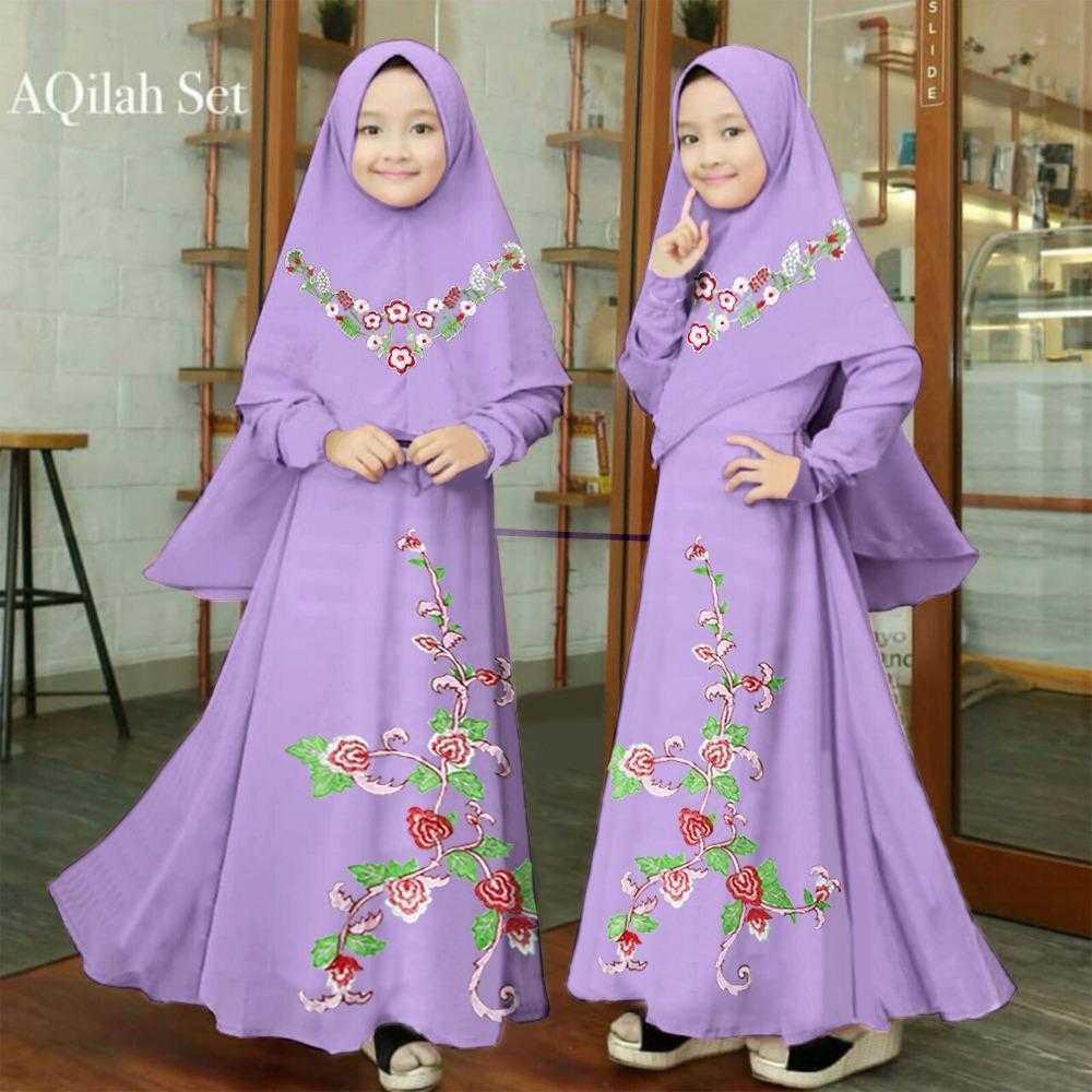 Cek Harga Baru B R Shop Gamis Anak Syari Saori Saus Tiram Sachet 10 X 23ml Newone Aqilah Wanita Baju Muslim Perempuan