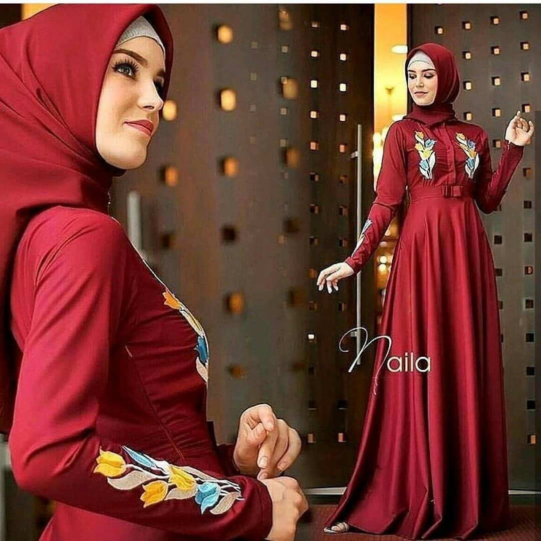 Kelebihan Atteenahijab Naila Syarifah Merah Hati Terkini Daftar Alifa Rasyidah Softplum Windia Dress