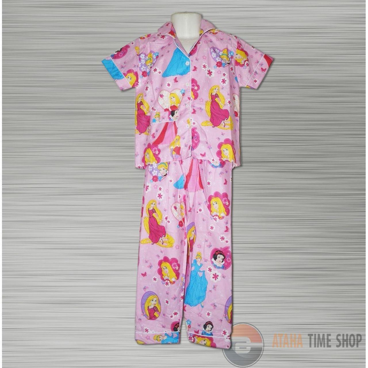Baju Tidur Anak Gambar FROZEN ( 4-7 Tahun)