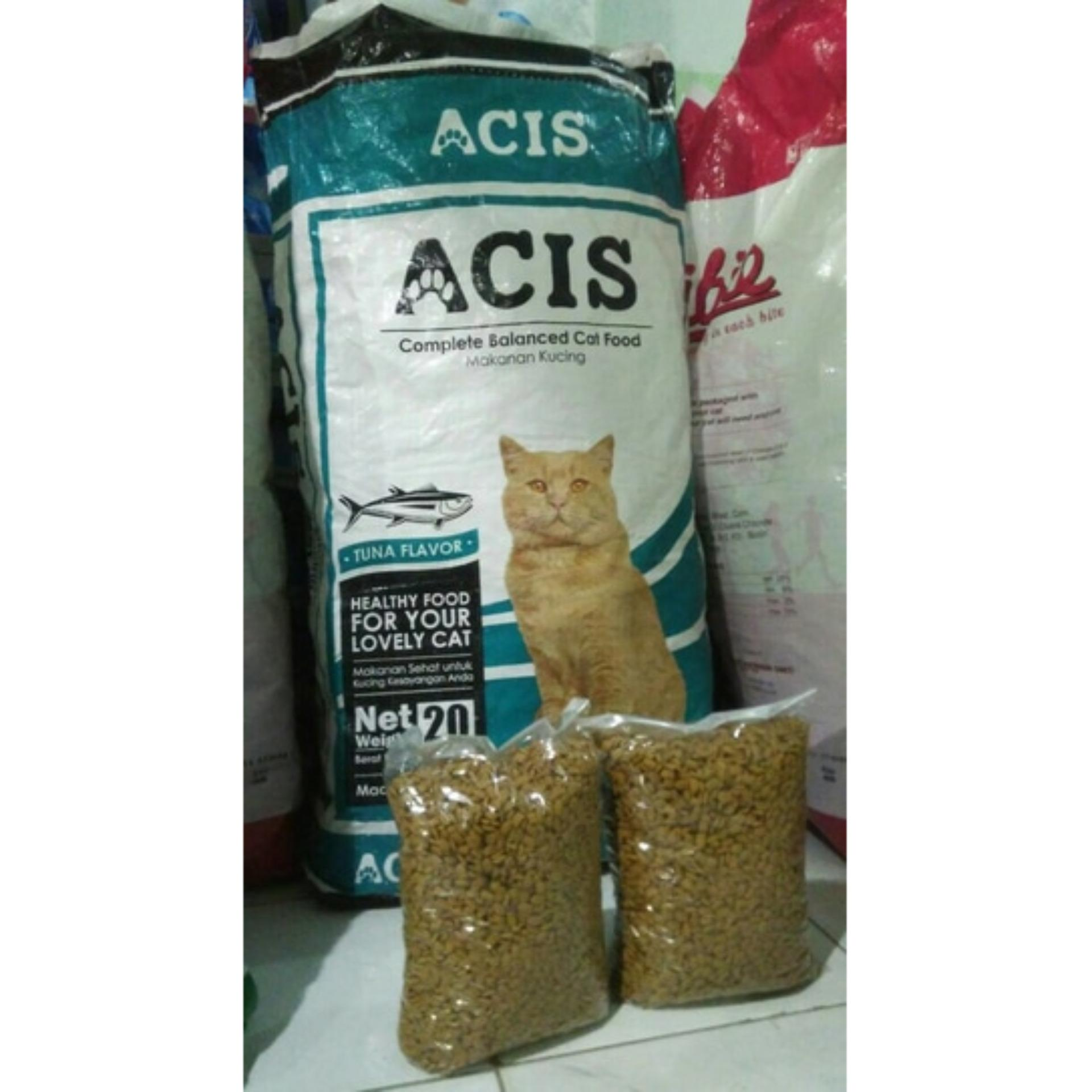 Cek Harga Baru Makanan Kucing Acis Tuna Cat Food Repack 500gram Maxi Chicken And 500 Gram Gambar Produk Rinci Terkini