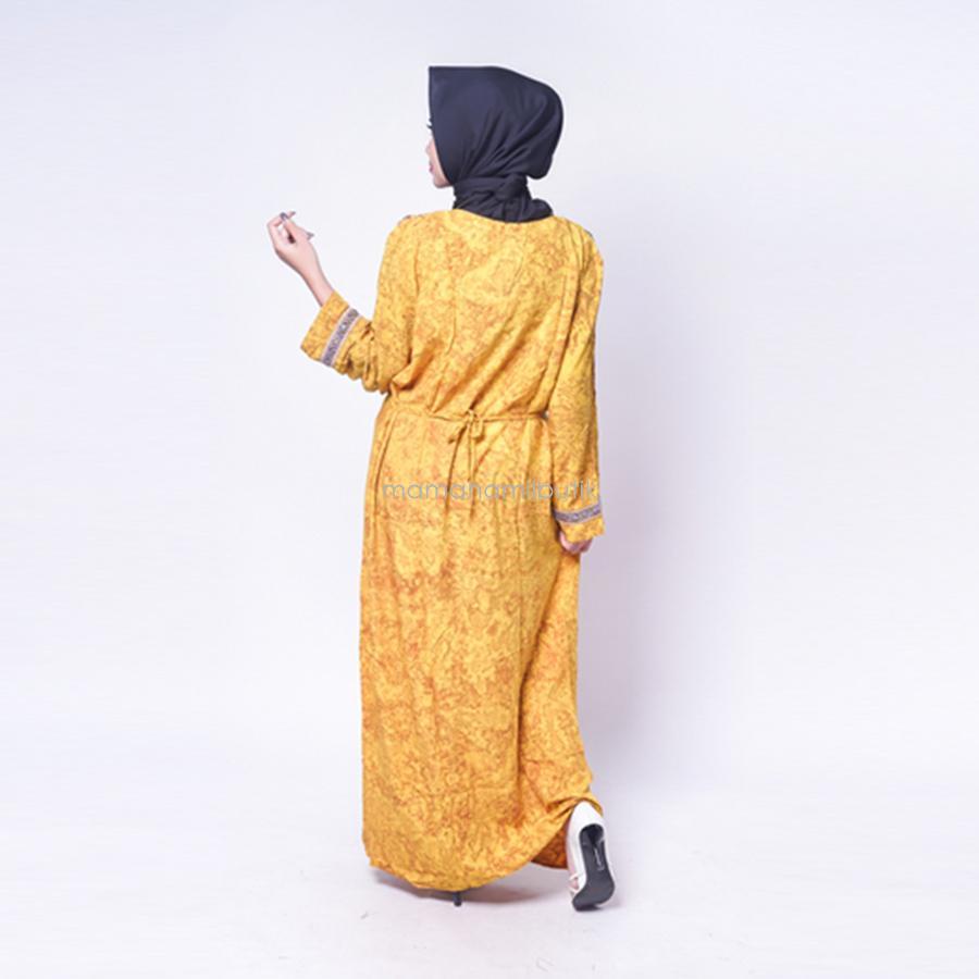 Fitur Ning Ayu Baju Gamis Hamil Muslim Model Arabian T Gms 252 Baju