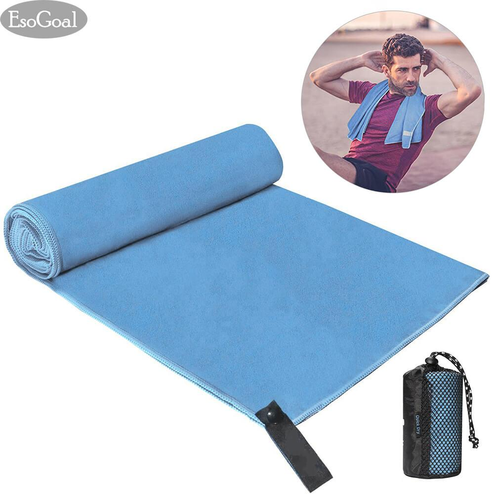 Beli Esogoal Sport Towel Quick Dry Towel Microfiber Towel Travel Towel Super Absorbent Lightweight Ultra Compact Suitable For Swimming Yoga Camping Beach Gym Yang Bagus