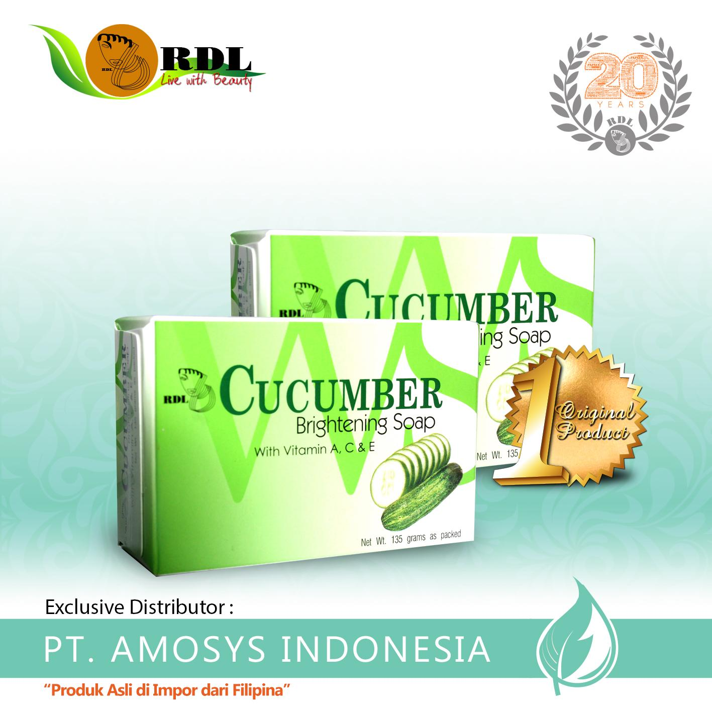 Kelebihan Bar Soap Rdl Papaya Extract With Milk 135gr Distributor Sabun Brightening Original Bpom By Mamaya Cucumber