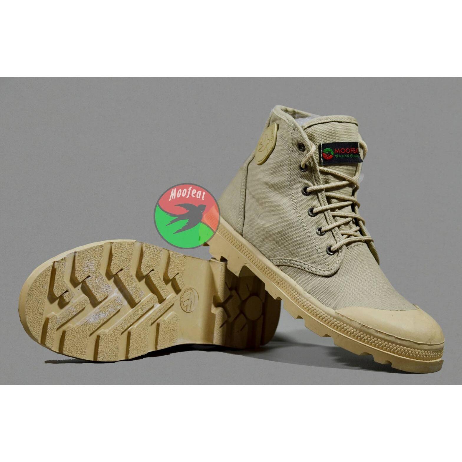 Beli Murah Sepatu Rocker Pentas Underground Kantor Kuliah Sneakers Varka Casual Pria 005 Boots Kerja Formal Santai Nongkrong Hiking