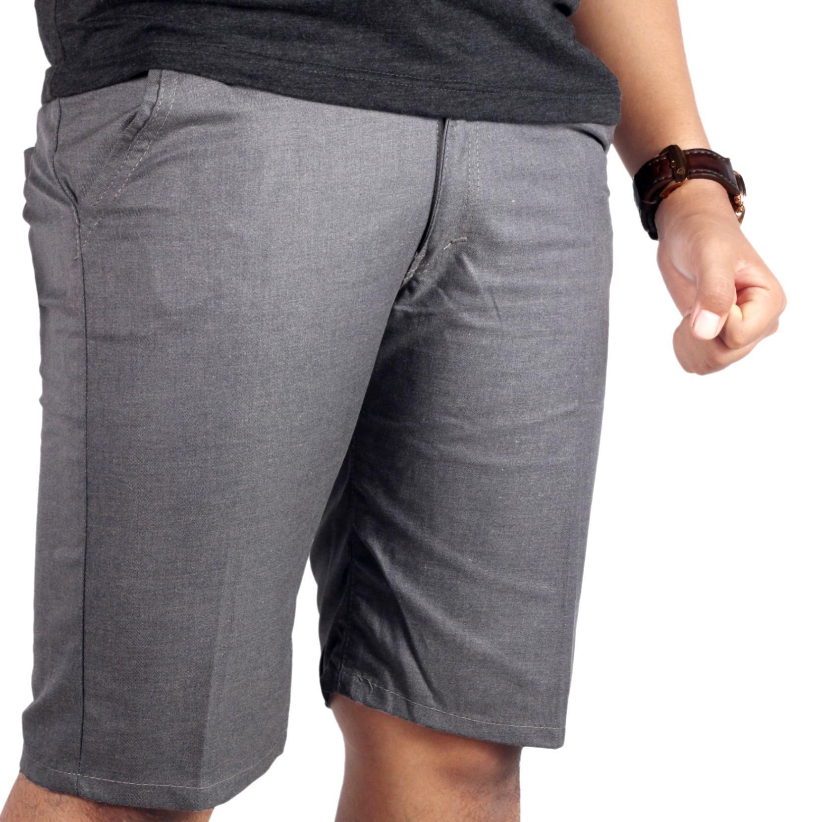 Cek Harga Baru Dgm Fashion1 Celana Chino Panjang Abu Polos Htam Pendek Distro Skinny Pants
