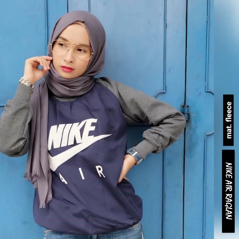 NIKE AIR RAGLAN ||| nouska shop ||| grosir jaket sweater baju atasan