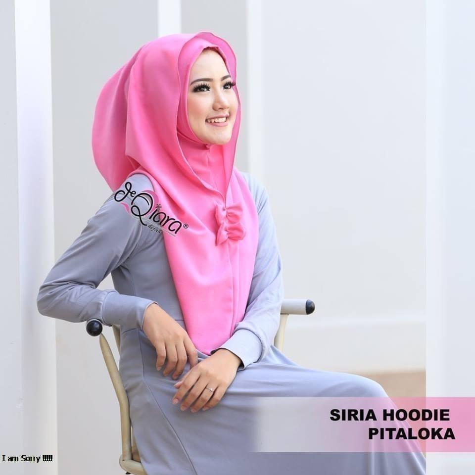 Fitur Siria Hoodie Ariza Flower Hijab Instan Best Seller Dan Harga Jilbab Kerudung Tammia Pitaloka