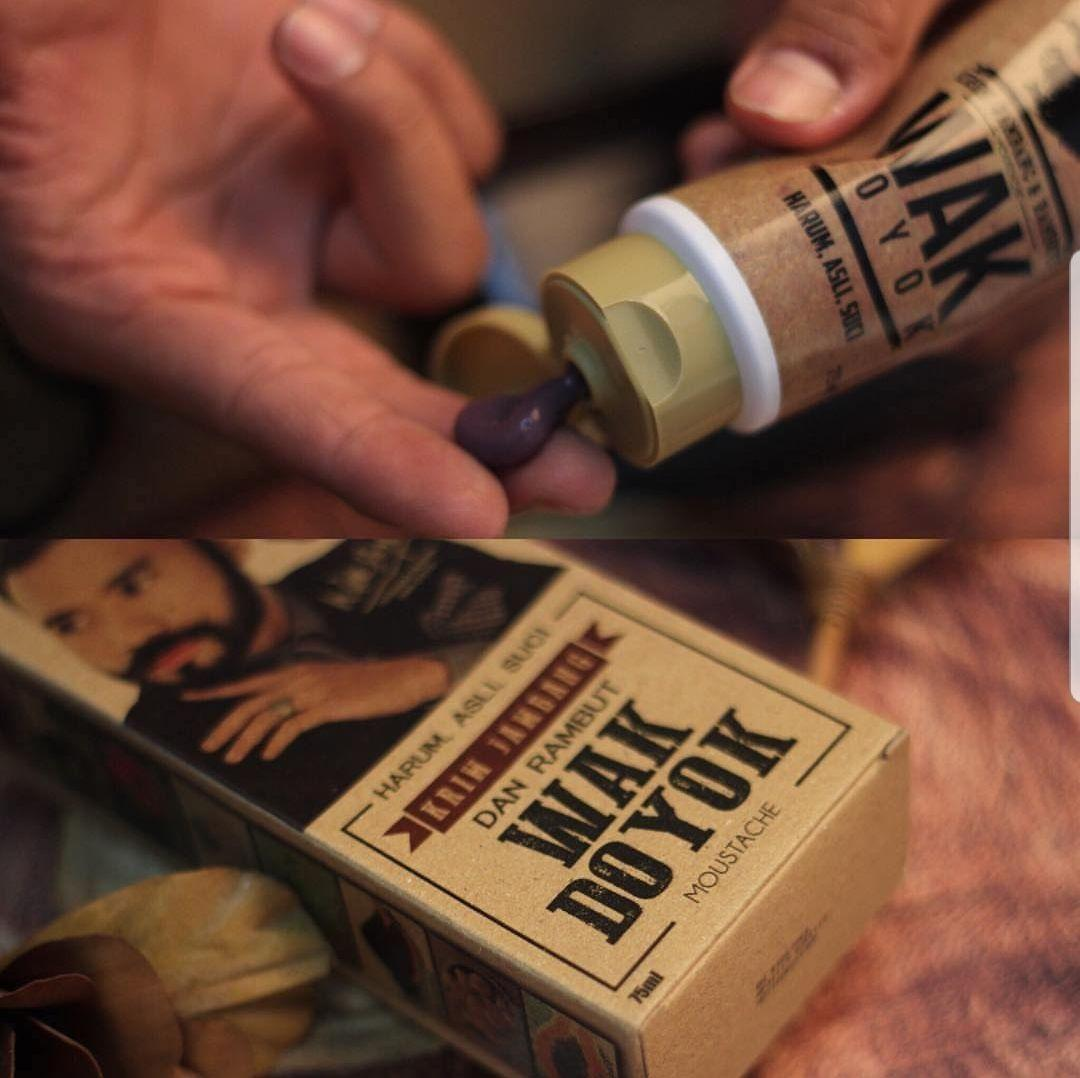 Jual Produk Wak Doyok Orginal 75 Ml Krim Jambang Jenggot Kumis Rambut Alis Cream 100 Original