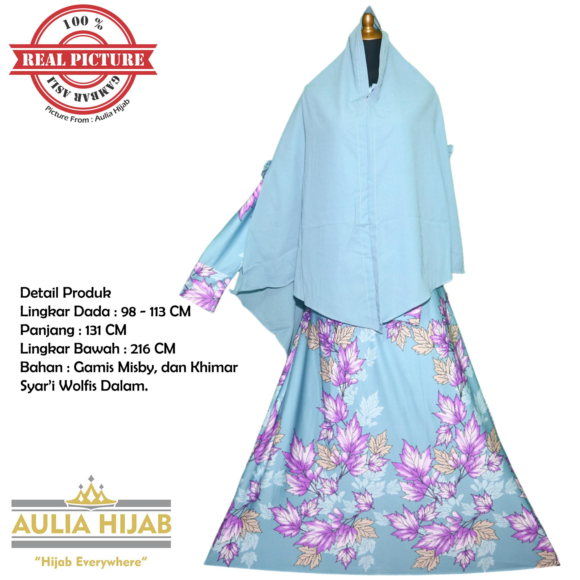 Features Aulia Hijab New Lyra Syar I Include Khimar Jumbo Gamis Syar