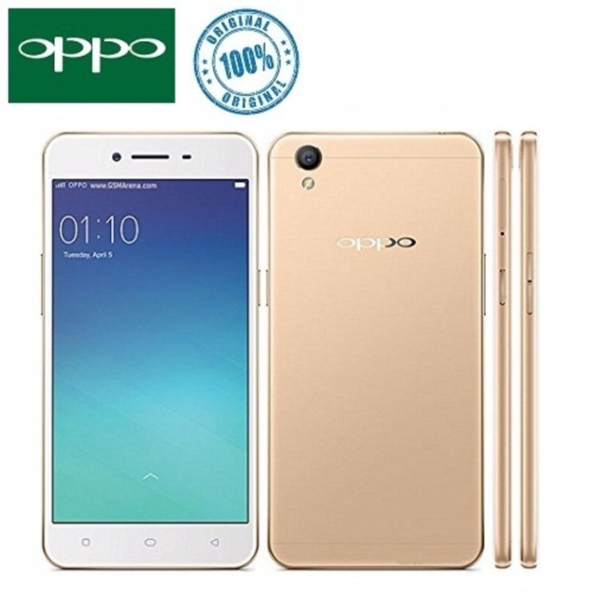 OPPO A37F 4G LTE 16GB - Gold