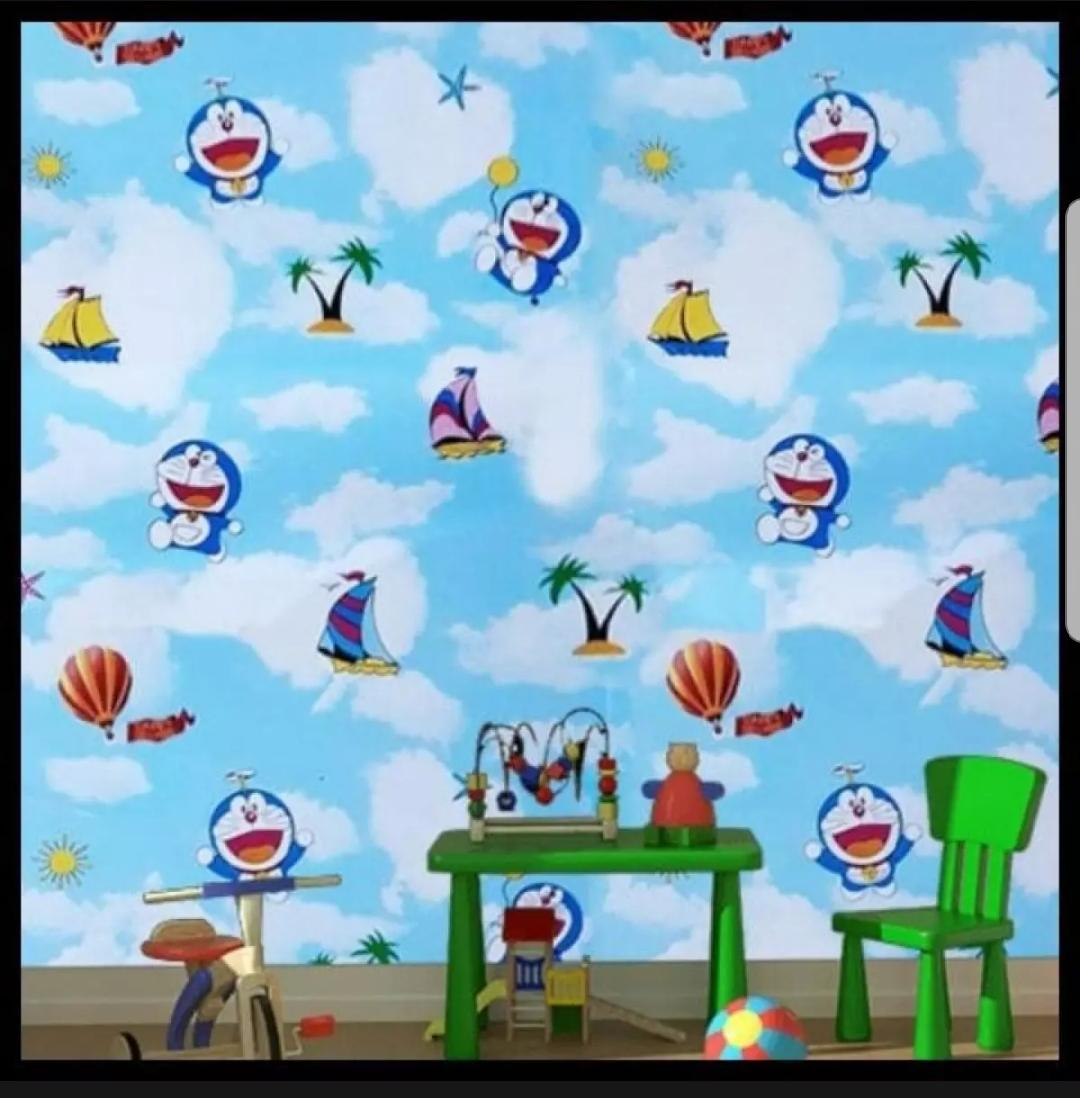 Stiker Wallpaper Dinding - Elegant Wallpaper Sticker (Size 45cm X 10M) - Bata 3D