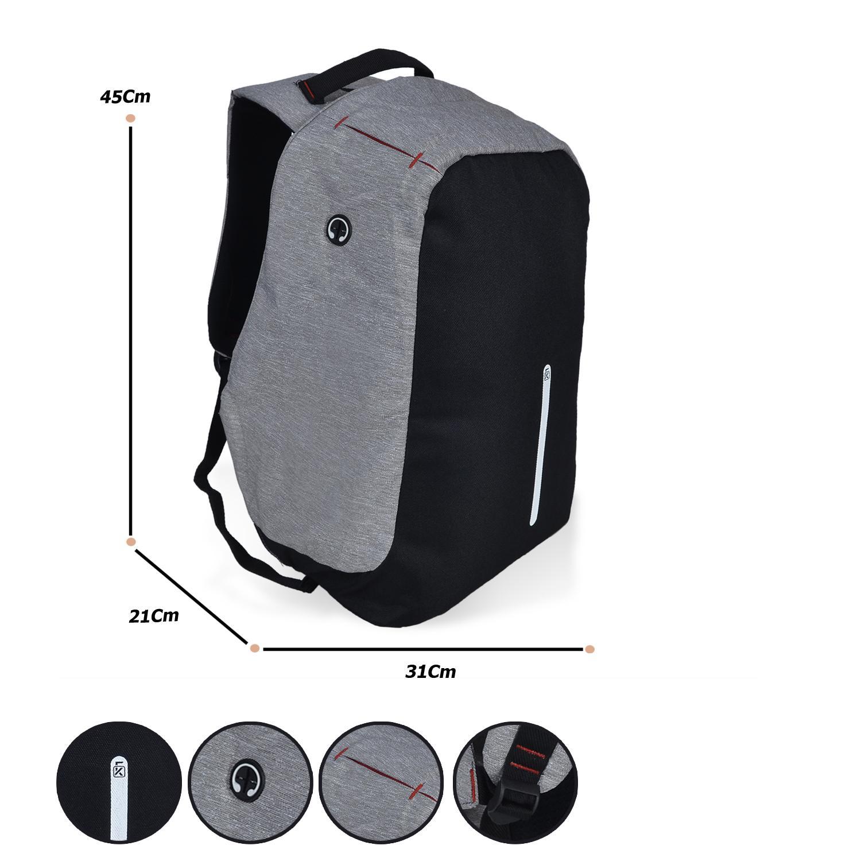 Tas Ransel Pria Gear Bag Outdoor Black Grey Daftar Harga Termurah Eiger Diario Daypack 19l Key Anti Theft Dailypack Laptop Bobby Backpack Kerja