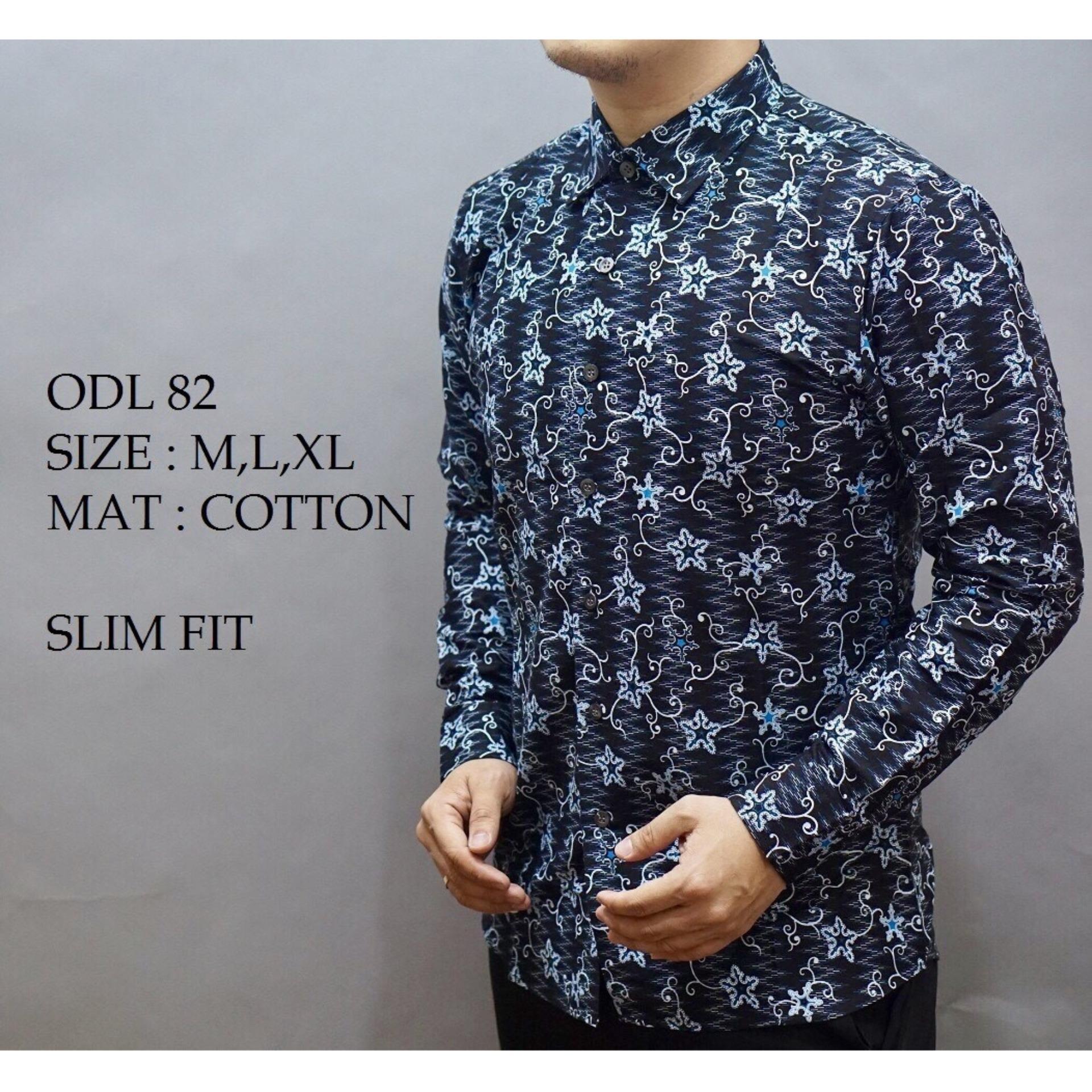 Fitur Baju Kemeja Batik Pria Slimfit Motif Modern Bahan Lembut Dan Stephen Adem Tidak Mudah Luntur Terbaru 2018