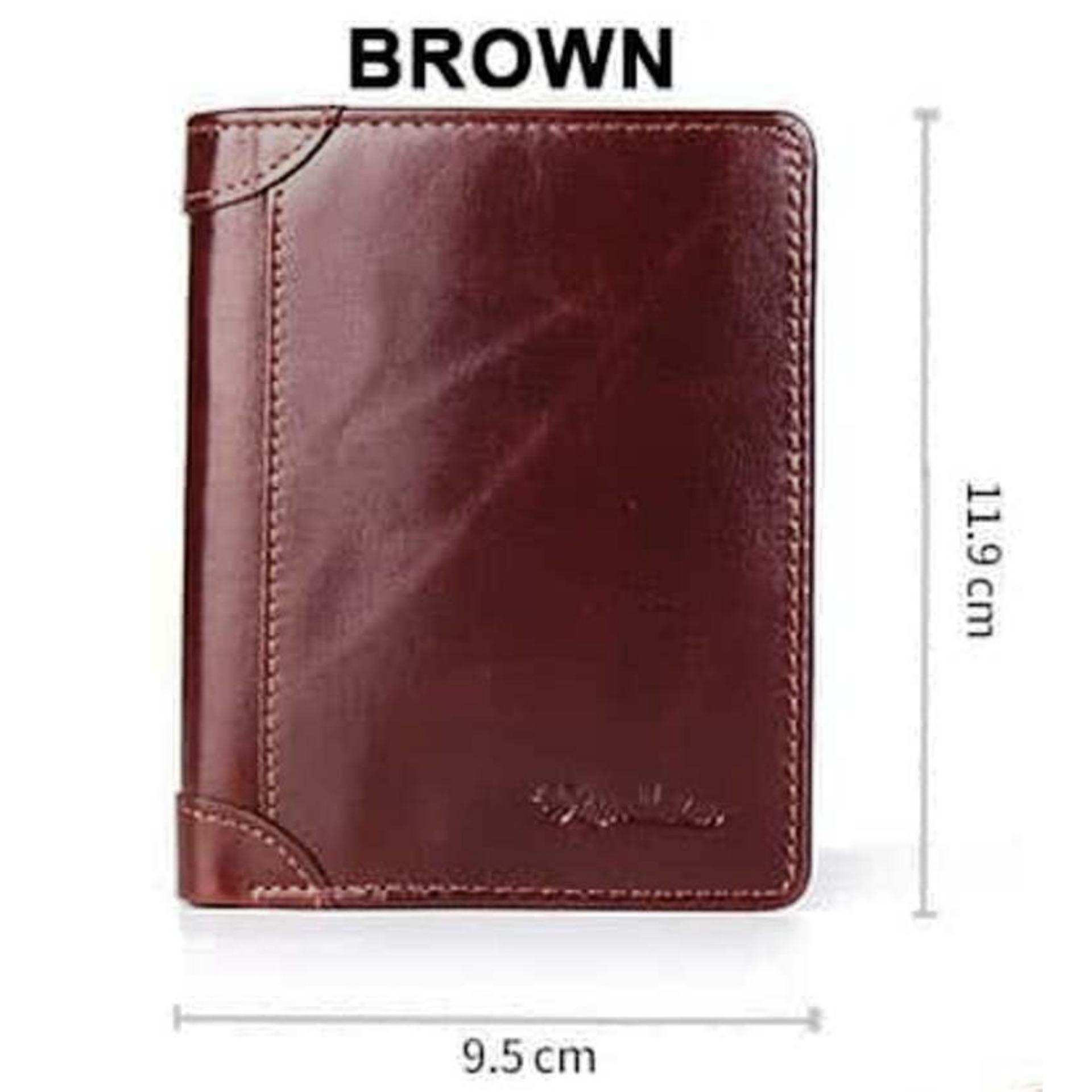 Bison Denim-Dompet Pria Horizontal Bifold Wallet Kulit Sapi Asli (BISON  W4361-2ZS ... 148a867c03