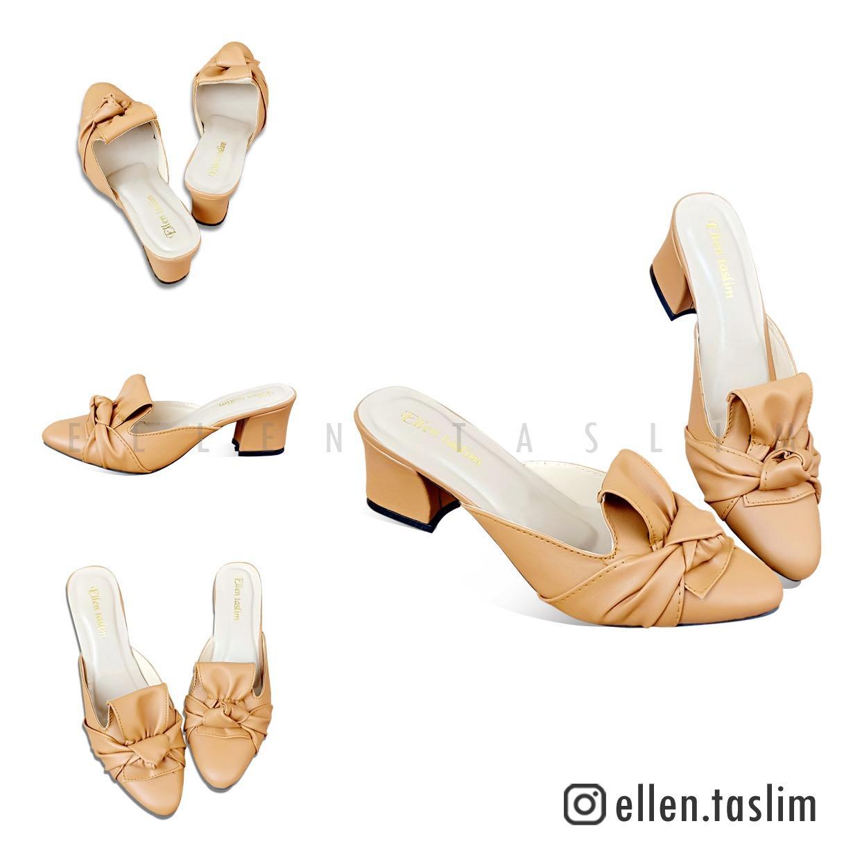 Detail Gambar Ellen Taslim - High Heels Chunky Heels Adibah BY 02 Terbaru 7f1e44ef65