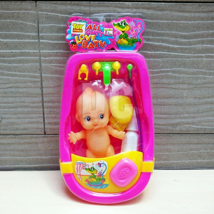 Blink Mainan Anak Bak Mandi Bayi   Bak Mandi Boneka Bayi   Baby Doll Bathtub 3626bc007e