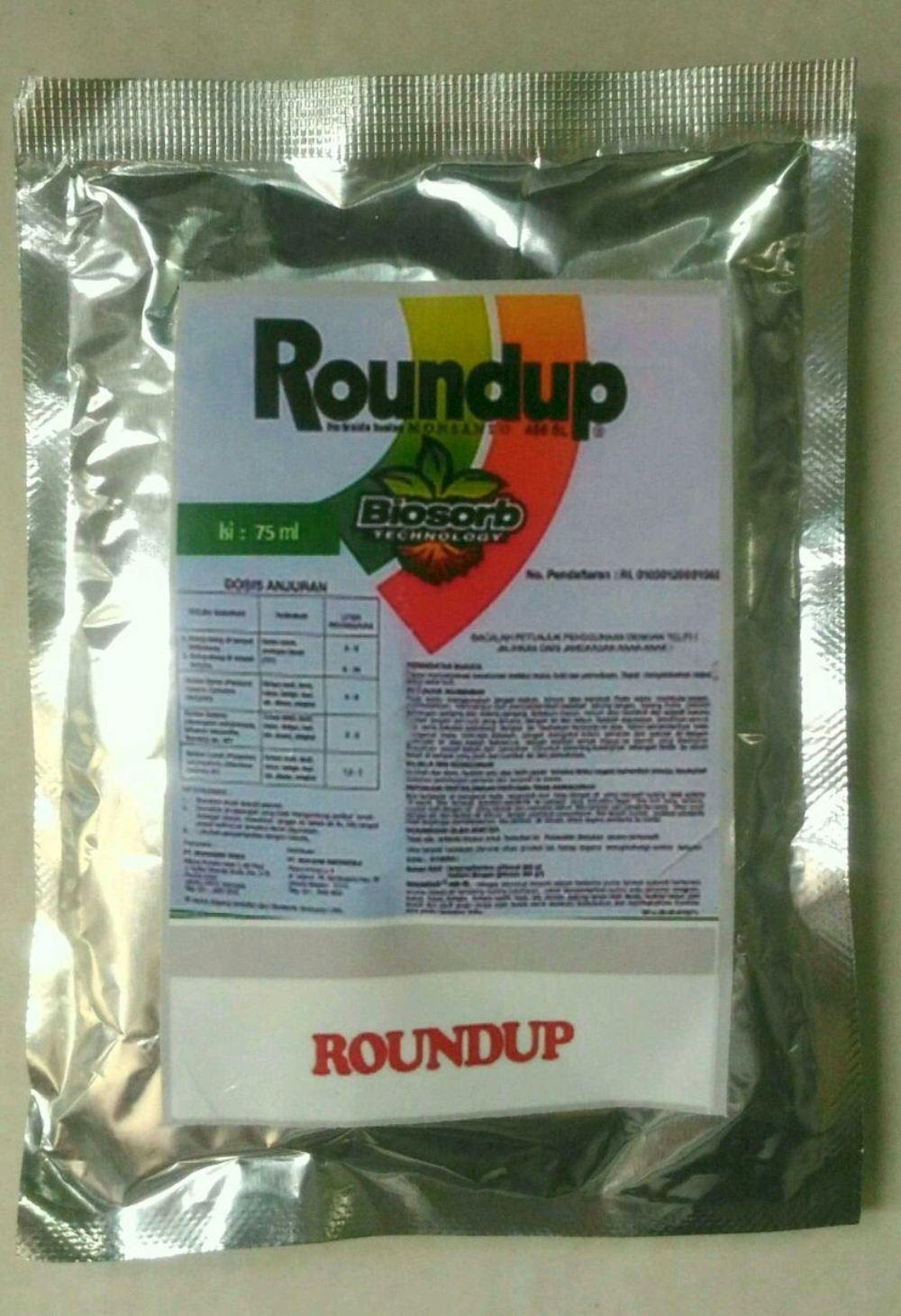 Herbisida ROUNDUP 486 SL