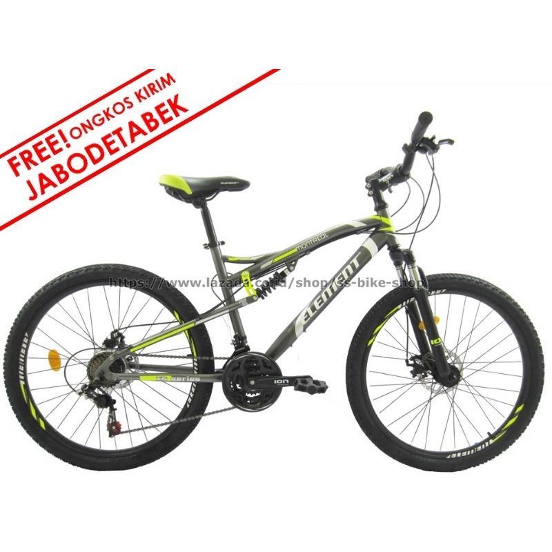 Harga Sepeda Mtb Element Montreal 24″ Gratis Ongkir Perakitan Element Baru