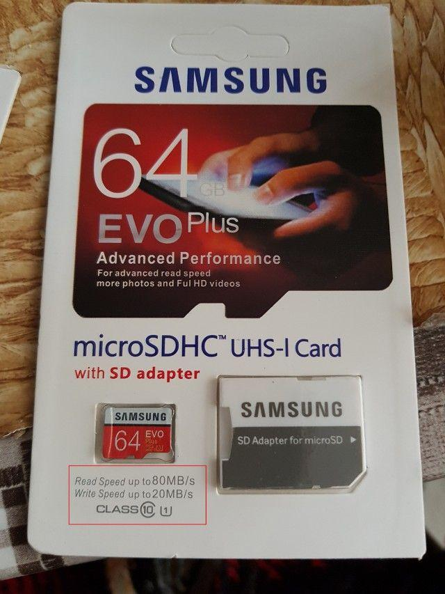 Samsung Memory Card microSDXC Evo Plus 64GB/80MB/s with Adapter - 2