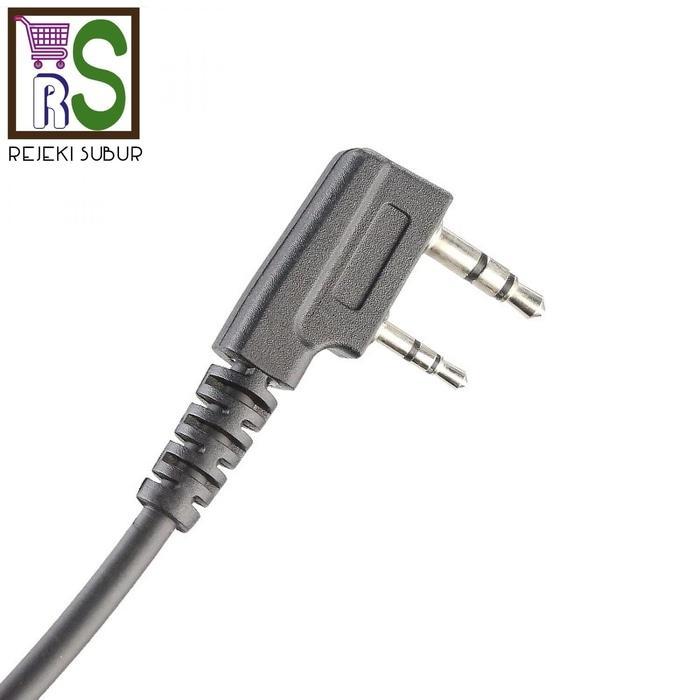 ... DISKON TERLARIS Extra mic Speaker Microphone Baofeng HT china tipe K uv5r TERMURAH - 4