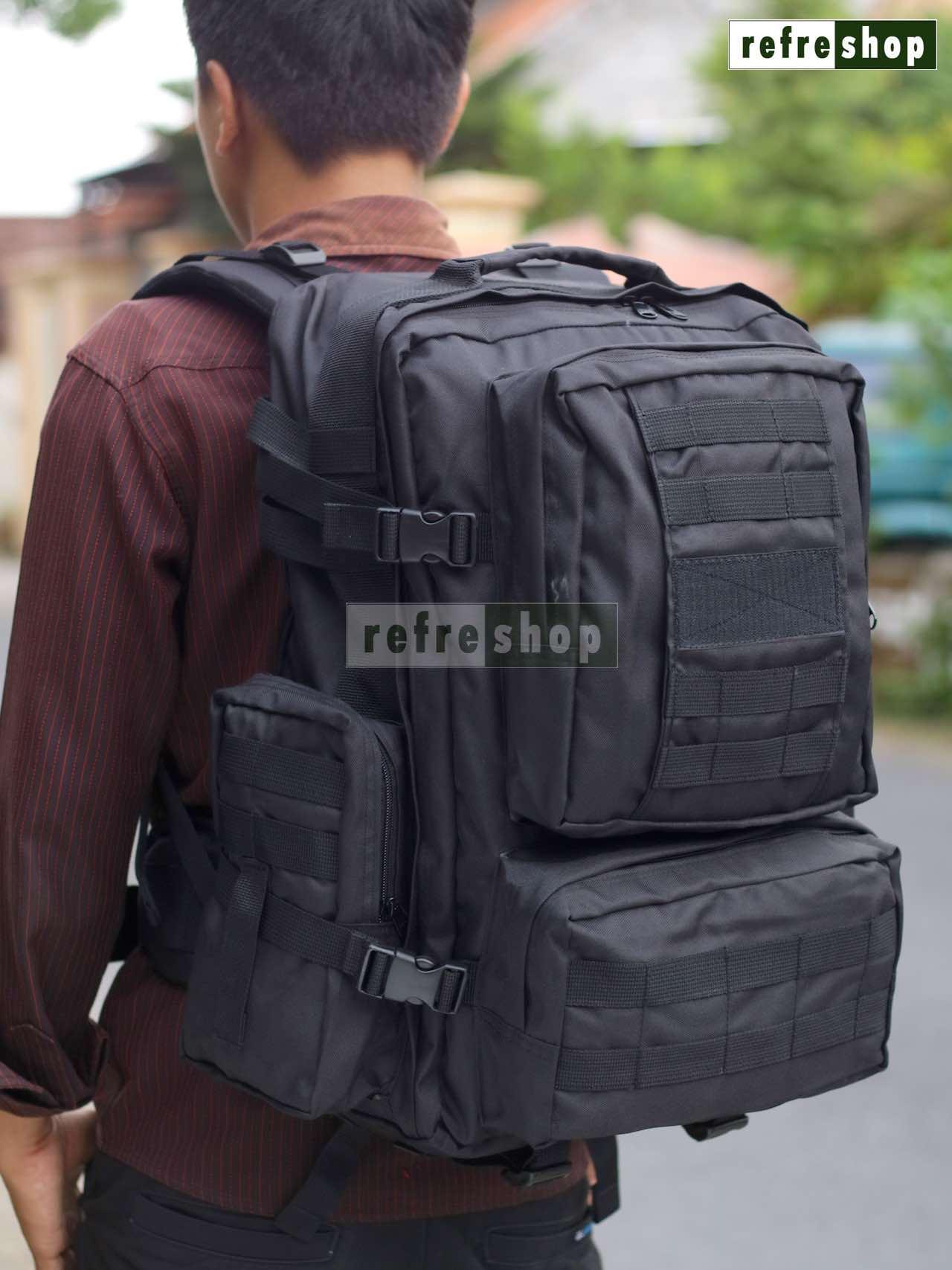 Tas Tactical Ransel Army Punggung Laptop Militer TNI Polisi PX143 Awet Berkualitas
