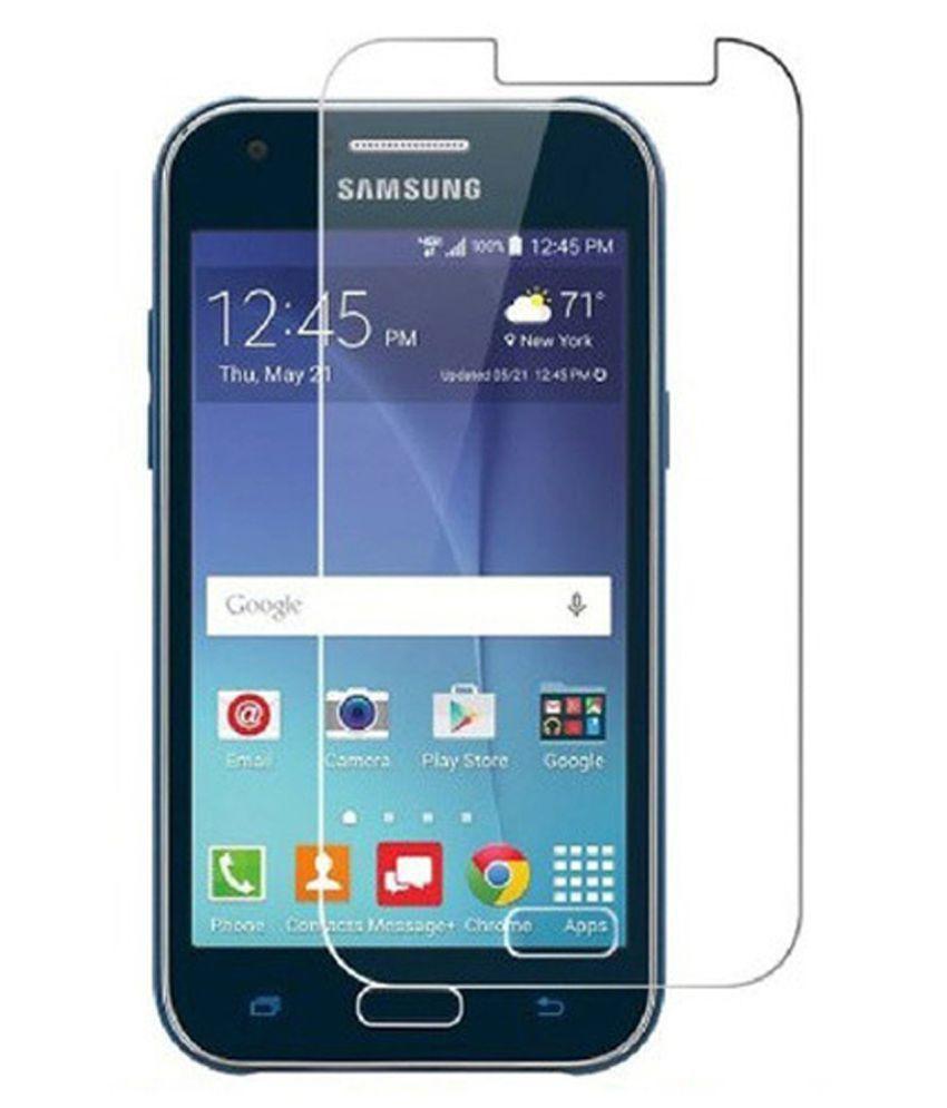 Original - Anti Gores Kaca / Tempered Glass Kaca Bening Samsung Galaxy J1 Mini