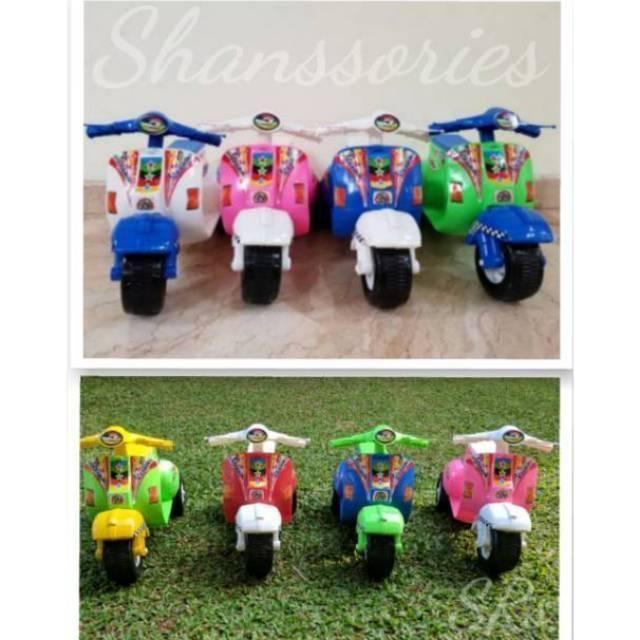 harga Motor Vespa Mini Mainan Anak Terbaru Lazada.co.id