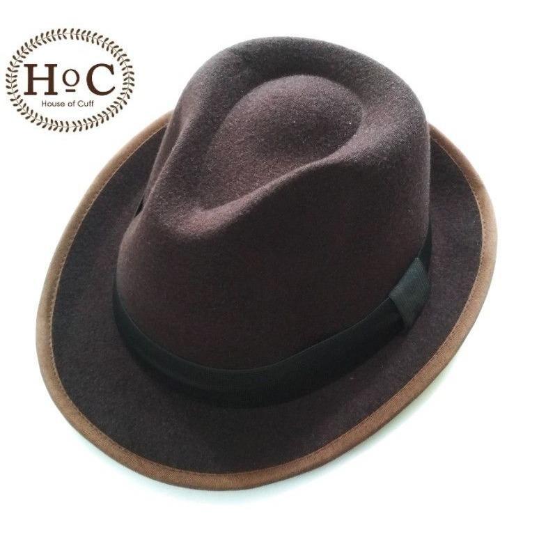 Cek Harga Baru Topi Jazz Topi Vintage Topi Fedora Hitam Terkini ... d35671faae