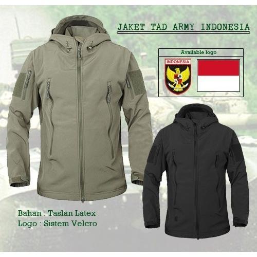 Jaket Tactical Tad Army Indonesia Bahan Taslan Taiwan Diskon Akhir Tahun